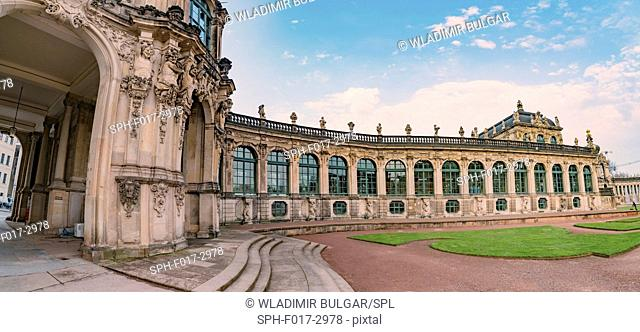 Zwinger Palace, Dresden, Saxony, Germany