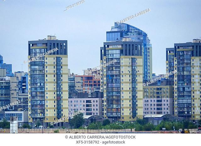 Modern Buildings, Saint Petersburg, Russia