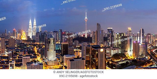 Kuala Lumpur Skyline, Malaysia