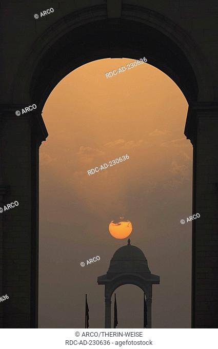 The Canopy near war memorial India Gate, New Delhi, India, New Dehli