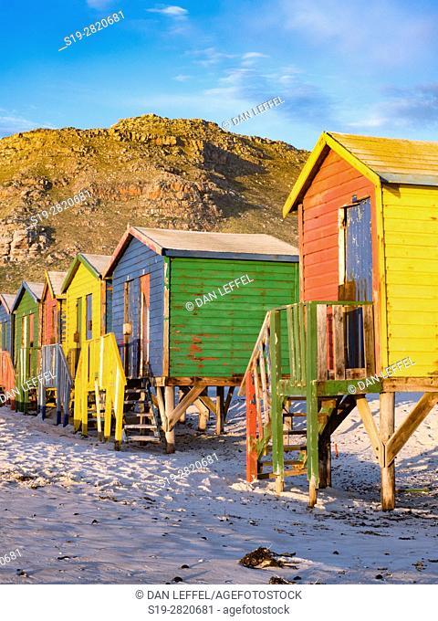 South Africa Muizenberg Beach Huts