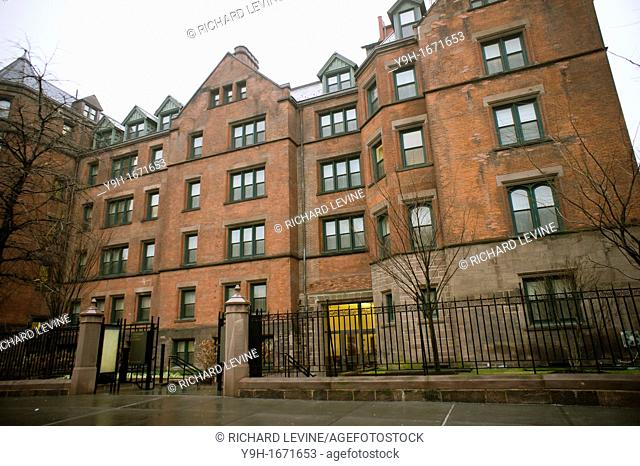 The Desmond Tutu Center at the General Theological Seminary in the New York neighborhood of Chelsea The seminary is in negotiations to sell the hotel and...