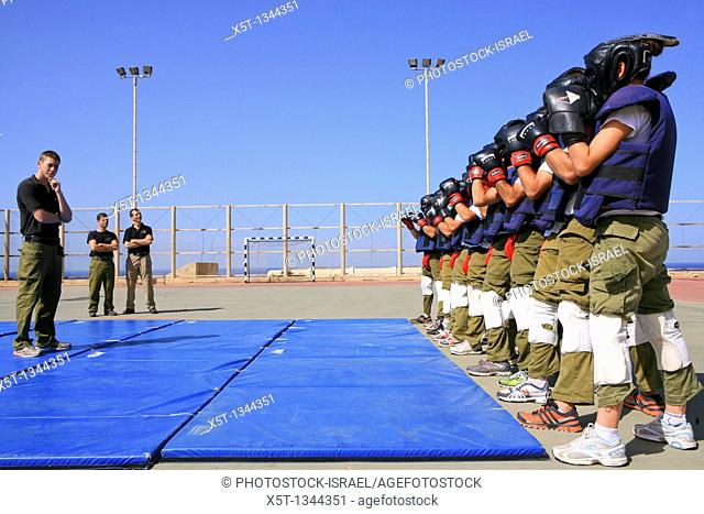 Soldiers train with Krav Maga 'contact combat', 'close combat' or 'full contact' is an eclectic hand-to-hand combat system developed in Israel that involves...