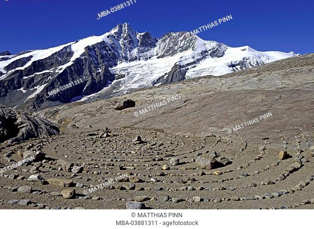 Austria, Eastern Alps, National Park Hohe Tauern, Großglockner mountain
