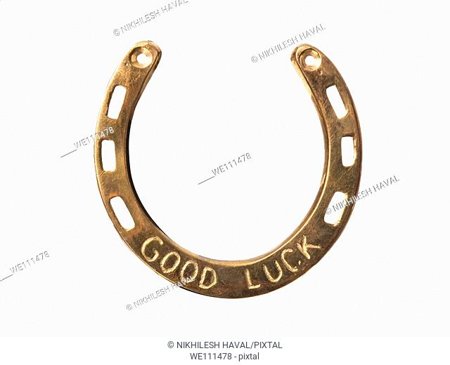 Goodluck charm horseshoe
