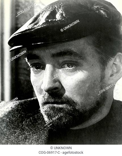 The actor Oskar Werner in a scene from the film The Spy Who Came in from the Cold , UK 1963
