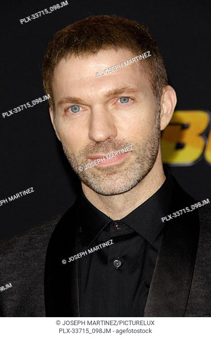 """Travis Knight at the Premiere of Paramount Pictures' """"""""Bumblebee"""""""" held at the TCL Chinese Theatre in Hollywood, CA, December 9, 2018"""
