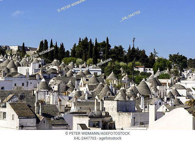 Trullo, Trulli, Alberobello, Apulia, Italy, UNESCO World Heritage Site