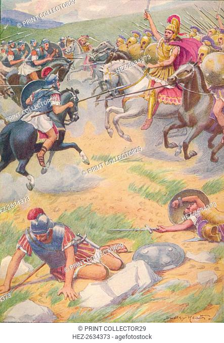 'The armour of Pyrrhus was richer and more beautiful than that of his soldiers', c1912 (1912). Artist: Ernest Dudley Heath