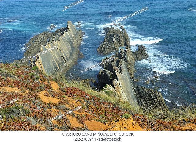 The Southwest Alentejo and Vicentine Coast Natural Park. Alentejo, Portugal