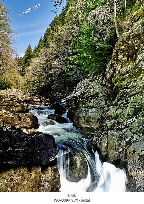 River Llugwy, Betws-y-coed, Snowdonia, Wales