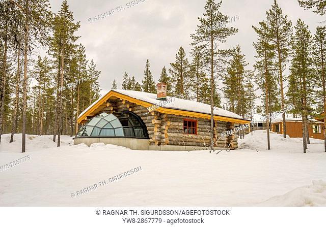 Kakslauttanen Hotel, Lapland, Finland