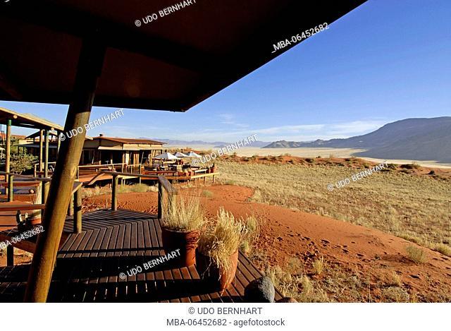 Africa, Namibia, NamibRand Nature Reserve, Wolwedane Dunes lodge