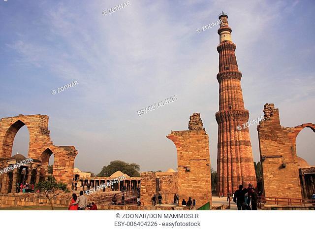 Qutub Minar complex, Delhi, India