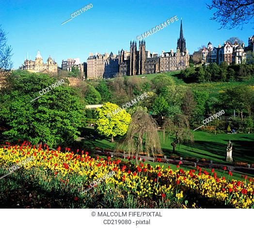Calton Hill. Edinburgh. Scotland