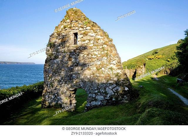St Declan's Hermitage, (Dysert Church), Ardmore, Co Waterford, Ireland