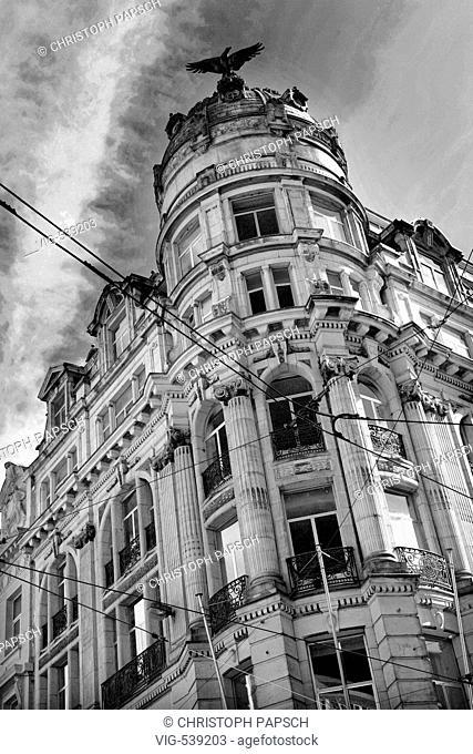 Belgium, Antwerp. Antwerp, City Centre.  - Antwerpen, Belgien, 04/09/2007