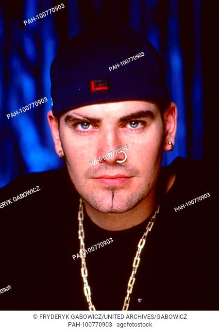 "Keith Duffy von der irischen Boyband """"Boyzone"""" in München, Deutschland 1998. Keith Duffy of Irish boy band """"Boyzone"""" at Munich, Germany 1998"