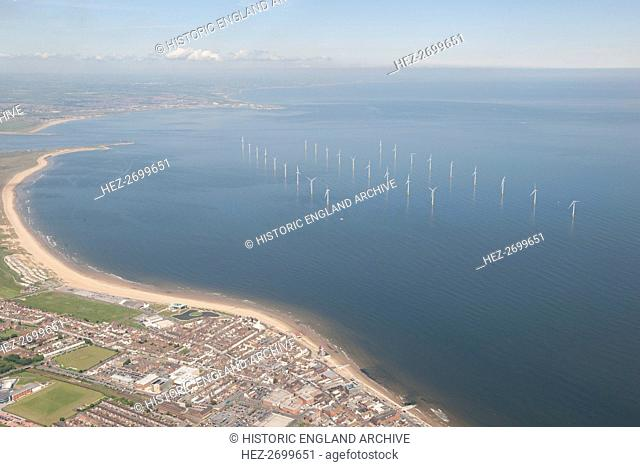 Teesside Wind Farm, Redcar and Cleveland, 2014. Creator: Historic England Staff Photographer