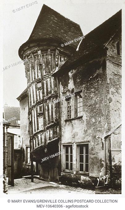Queen Berthe's Staircase, Chartres, Eure-et Loir Department, France
