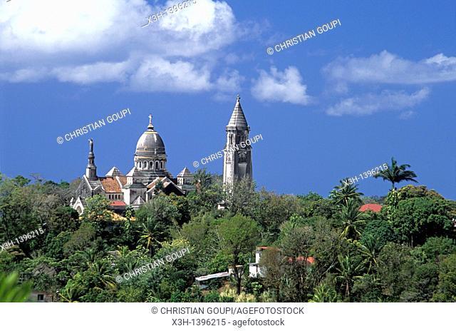 L'eglise de Balata appelee aussi le Sacre Coeur de Balata est une replique miniature de la Basilique Montmartre  Ile de la Martinique Departement et Region...