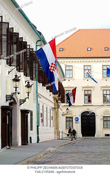 Banski dvori, Zagreb