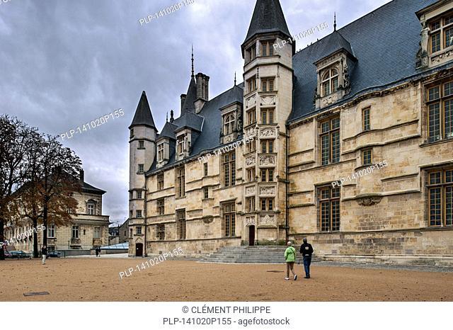 Palais Ducal, Nevers, Burgundy, France