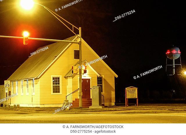 Little Creek Christian Church, Norfolk, Virginia, USA