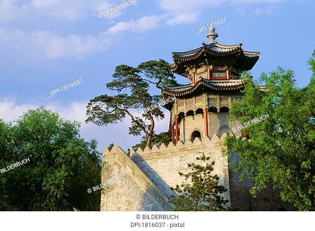 Pagoda at the Summer Palace in Beijing, China