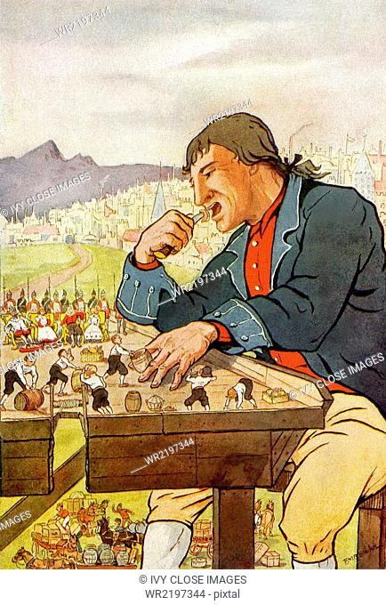 Gulliver's Travels is a political social satire written by the English author Jonathan Swift in 1726. Despite the satire