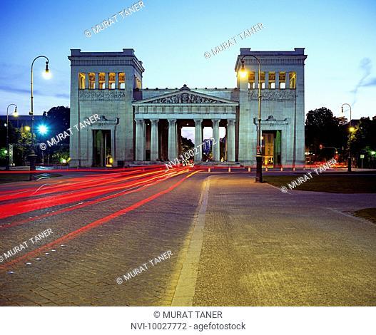 Propylaen Gate, Munich, Bavaria, Germany