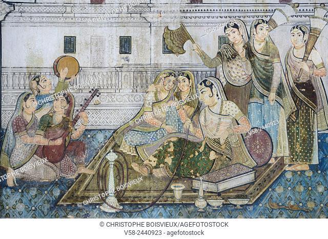 India, Karnataka, Mysore region, Srirangapatna, Tippu Sultan's mausoleum