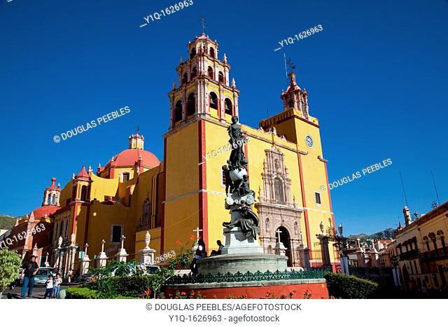 Basilica de Nuestra Senora de Guanajuato, Church, Guanajuato, Mexico