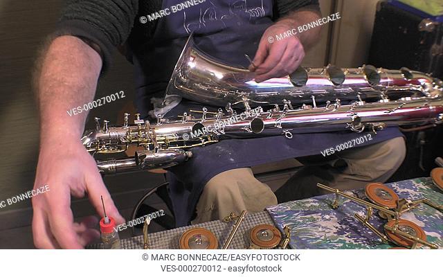 maintenance of an alto saxophone