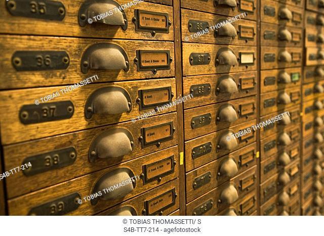 Outdated file cabinet, Melbourne, Victoria, Australia