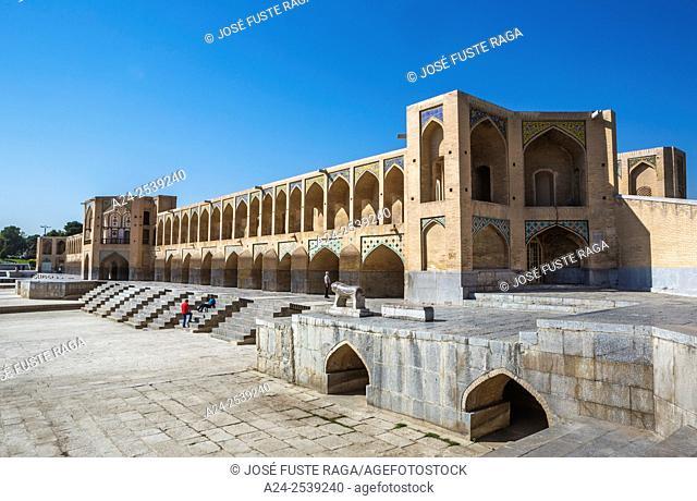 Iran, Esfahan City, Si-o-Seh Bridge, UNESCO, (W. H. )