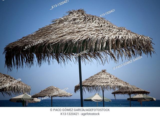 Beach  Santorini, Cyclades Islands, Greece