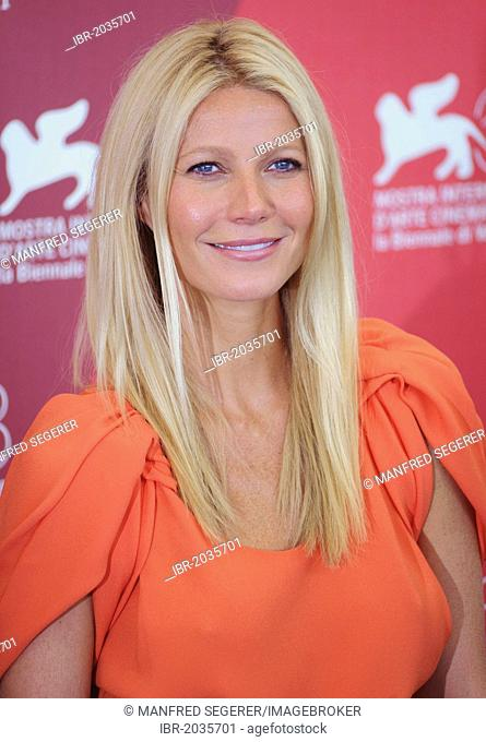 Gwyneth Paltrow at a photocall for her film Contagion at the 68th International Film Festival of Venice, Italy, Europe
