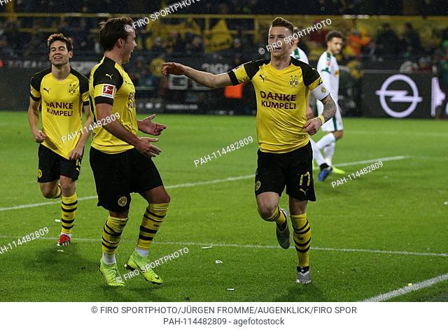 firo Football, 21.12.2018 1st Bundesliga, season 2018/2019 BVB Borussia Dortmund - VfL Borussia Monchengladbach, Gladbach