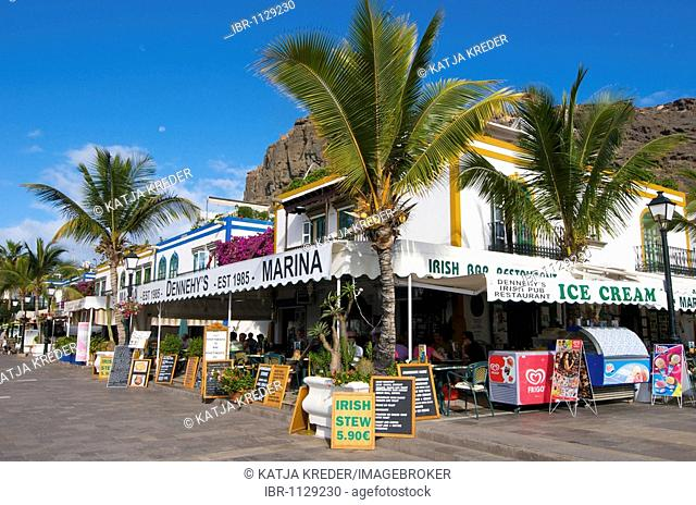 Café in Las Palmas, Grand Canary, Canary Islands, Spain