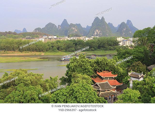 Yangshuo Town, Li River, Guangxi, China