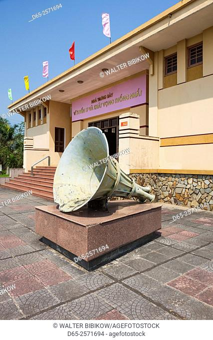 Vietnam, DMZ Area, Quang Tri Province, Ben Hai, war memorial at site of former north and south Vietnam border post, museum, exterior