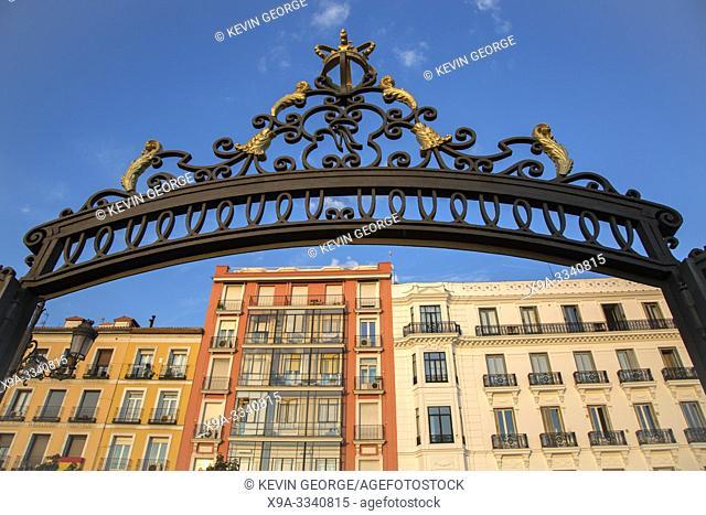 Entrance to Sabatini Gardens; Madrid; Spain