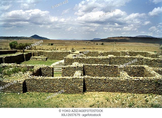 ethiopia, Aksum, Dungur, Queen Sheba's Palace