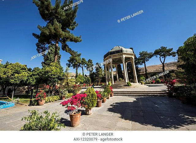 Pavilion over the tomb of Poet Hafez in Musalla Gardens; Shiraz, Fars Province, Iran