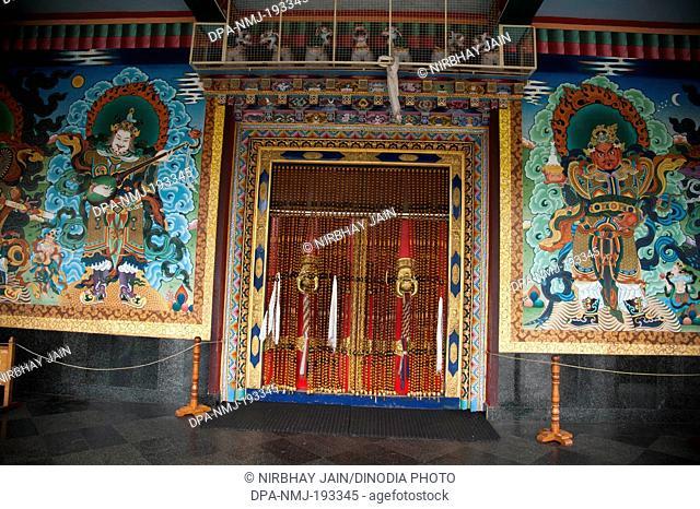 Golden temple, coorg, karnataka, india, asia
