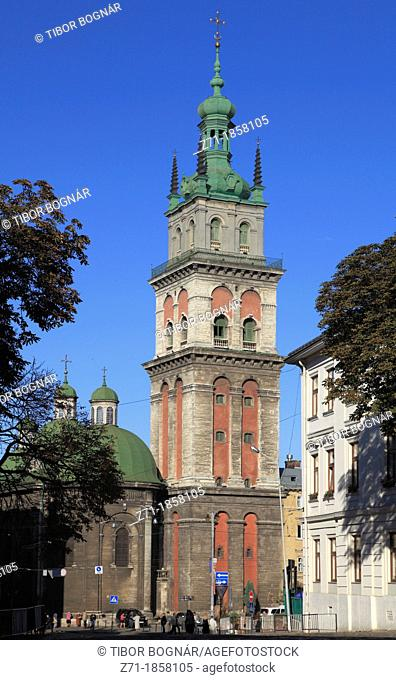 Ukraine, Lviv, Assumption Church