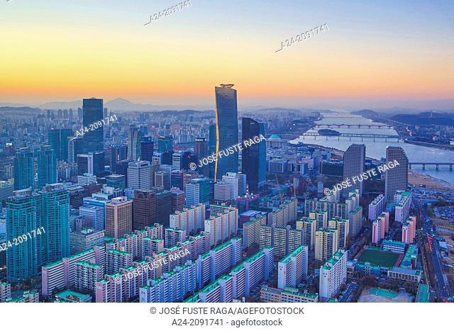Korea , Seoul City, Yeouido Distric , The International Financial Center