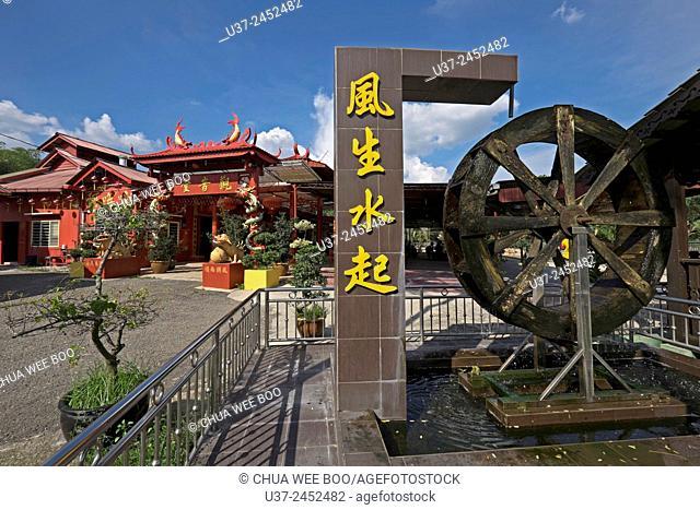 A chinese buddha temple in Raub, Pahang, Malaysia