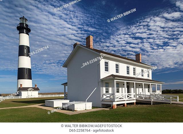 USA, North Carolina, Outer Banks National Seashore, Bodie Island, Bodie Island Lighthouse
